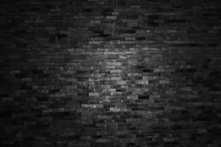 Photo pour Texture et fond de mur de brique, ton foncé - image libre de droit