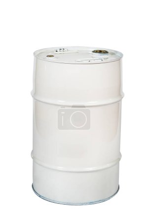 Photo for Metal barrel for liquids - Royalty Free Image