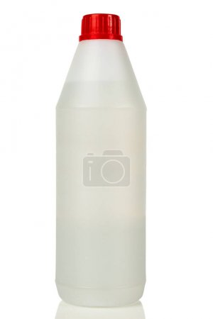Photo for A plastic bottle with red cap - Royalty Free Image