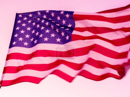 Photo for Flag of United States of America. USA - Royalty Free Image