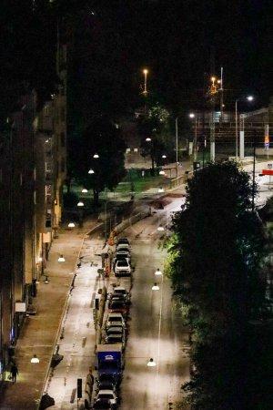 Photo pour Stockholm, Sweden  Norra Stationsgatan on Kungsholmen. - image libre de droit