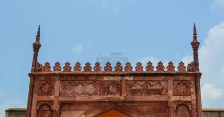 Photo pour Sommet du Fort d'Agra à jour ensoleillé à Agra (Inde) - image libre de droit