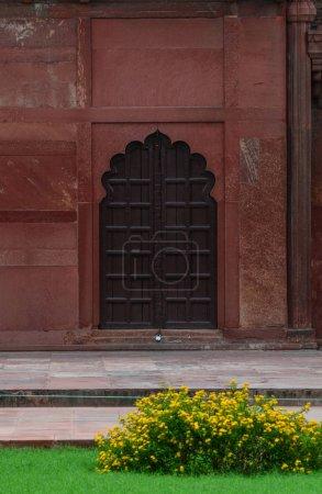 Photo pour Intérieur du Fort d'Agra à Agra (Inde). Le fort est un site du patrimoine mondial de l'Unesco - image libre de droit