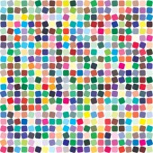 Vector color palette 484 different colors Pattern size 154 x 154 mm Details chaotically scattered and rotated