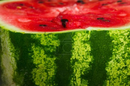 Photo for Close up view of fresh delicious watermelon background - Royalty Free Image