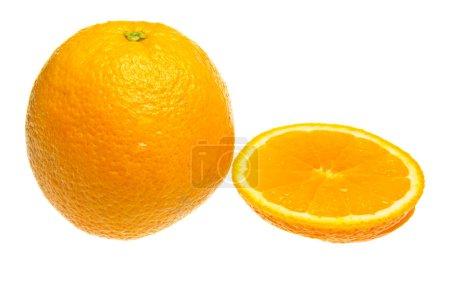 Photo for Orange isolated on a white background. - Royalty Free Image