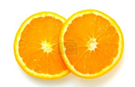 Photo pour Orange isolé sur fond blanc. - image libre de droit