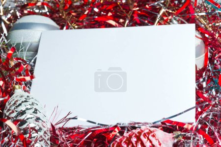 Photo for Still life with Christmas decorations. - Royalty Free Image