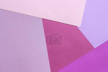 Photo pour Papier texture fond, motif géométrique abstrait de rose violet violet couleurs pour la conception . - image libre de droit