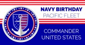 Navy birthday celebrated in 13th October 13th in United States