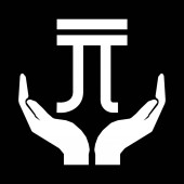 Hands and money currency NEW TAIWAN DOLLAR sign white on black b