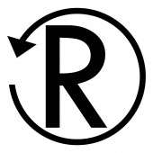 Refund sign SOUTH AFRICA RAND currency Circle arrow sign
