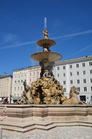Photo for Salzburg, Austria - View in the historical city of Salzburg, Austria - Royalty Free Image