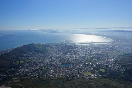 Photo for Cape town from table mountain - Royalty Free Image