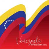 Vector illustration of Happy Venezuela Independence Day