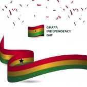 Ghana Independence Day Vector Template Design Illustration