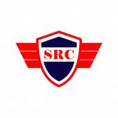 SRC Logo Vector Template Design Illustration
