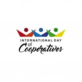 International Day of Cooperatives Celebration Vector Template Design Illustration