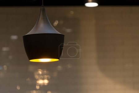 Photo for Modern ceiling lamp interior lighting bulbs decoration contemporary - Royalty Free Image