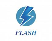 flash power thunder illustration vector