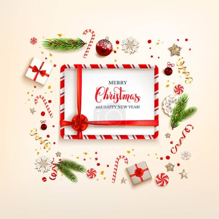 Design elements with gift boxes