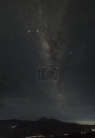 Photo for Stars in the night sky. - Royalty Free Image