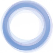 Background texture of blue soft circle with copy space Textured