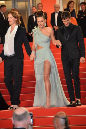 """Photo for CANNES, FRANCE. May 24, 2019: Adele Exarchopoulos  at the gala premiere for """"Sybil"""" at the Festival de Cannes - Royalty Free Image"""