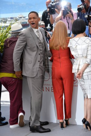 Jessica Chastain, Will Smith & Fan Bingbing at the...