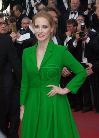 Jessica Chastain at the premiere for