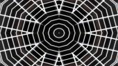 """Постер, картина, фотообои """"Аннотация, красочные гипнотические Симметричный узор декоративных декоративные Калейдоскоп движения геометрический круг и звезда формы"""""""