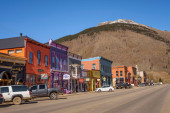 Colorful buildings of the Silverton Historic District