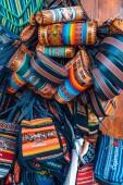 Cajamarquina crafts handbag purses