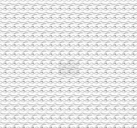 Illustration for Abstract pattern illustration, seamless background. - Royalty Free Image
