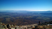 Beautiful stone mountain landscape at daytime