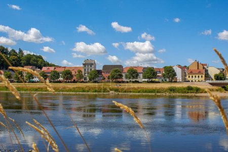 Former fisherman houses on the bank of the river E...