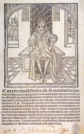 2. Brief von Hernan Cortes an Karl v. Buchhaltung von