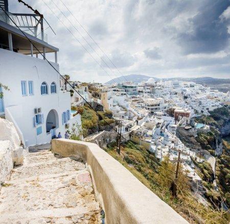 Photo for White houses of Oia town, Santorini island, Greece - Royalty Free Image