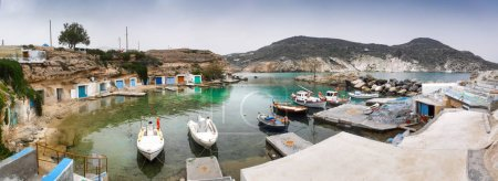 Photo for Panoramic view of Milos island, Greece - Royalty Free Image