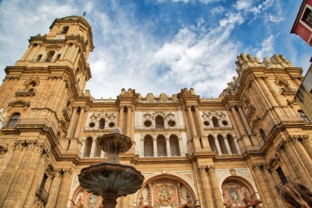 Photo for Malaga Central Cathedral, Spain - Royalty Free Image