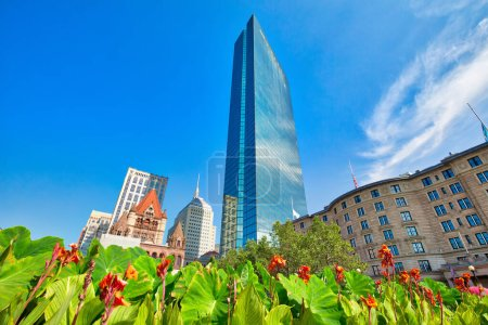 Photo for Boston Copley Square, USA - Royalty Free Image