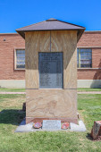 Monument To Vietnam Casualties From Navajo County in Holbrook Arizona