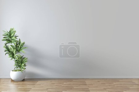 Photo for Screen Empty room interior 3d rendering - Royalty Free Image