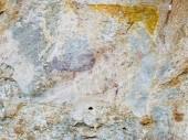 """Постер, картина, фотообои """"Бушман Наскальное искусство в Хотсо, Королевство Лесото, Южная Африка"""""""