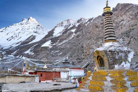 Photo pour Vue du temple de Rangrik, Inde . - image libre de droit