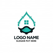 Creative & Modern Plumbing logo design template for company or business industry purpose ready to use