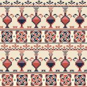 Palestinian embroidery pattern  103