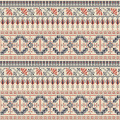 Palestinian embroidery pattern  106