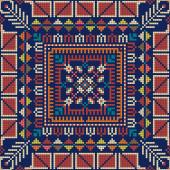 Palestinian embroidery pattern 131