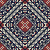 Palestinian embroidery pattern 138